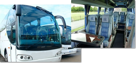 52 seater full sized coaches